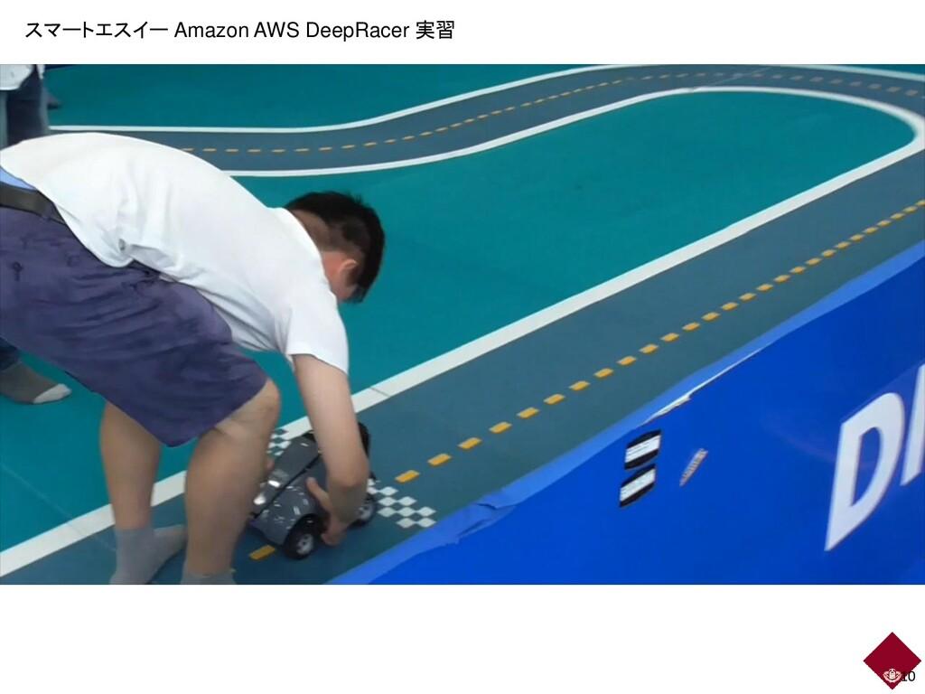 10 スマートエスイー Amazon AWS DeepRacer 実習