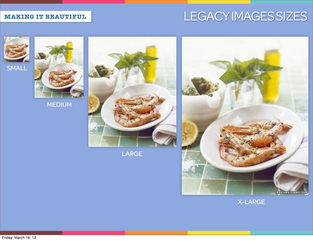 MAKING IT BEAUTIFUL LEGACY IMAGES SIZES SMALL M...