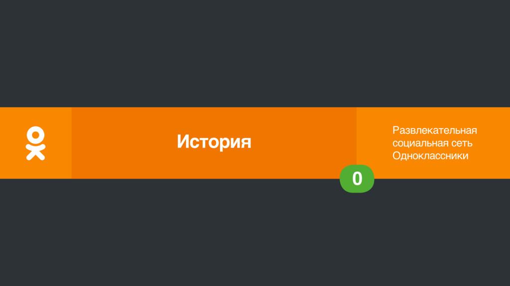Развлекательная социальная сеть Одноклассники 0...