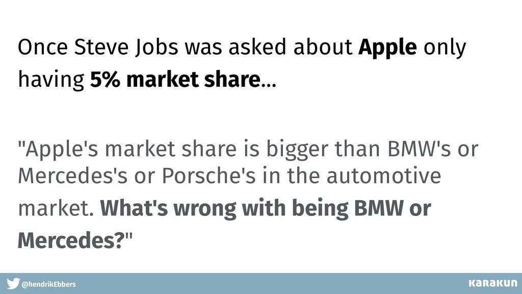 "@hendrikEbbers ""Apple's market share is bigger ..."