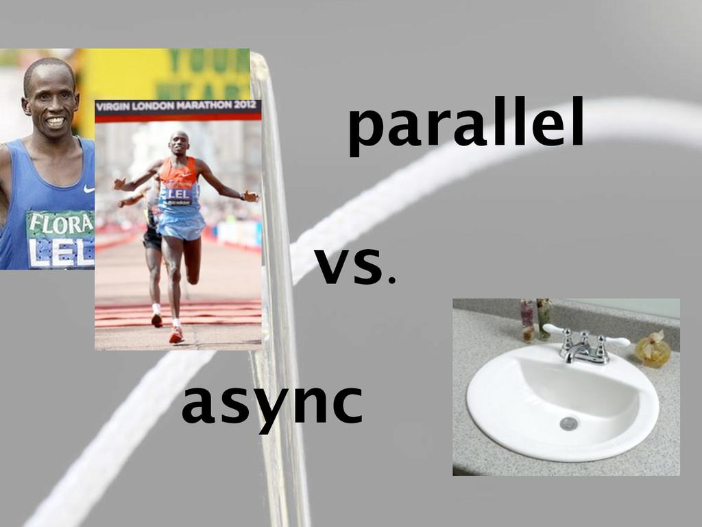vs. parallel async