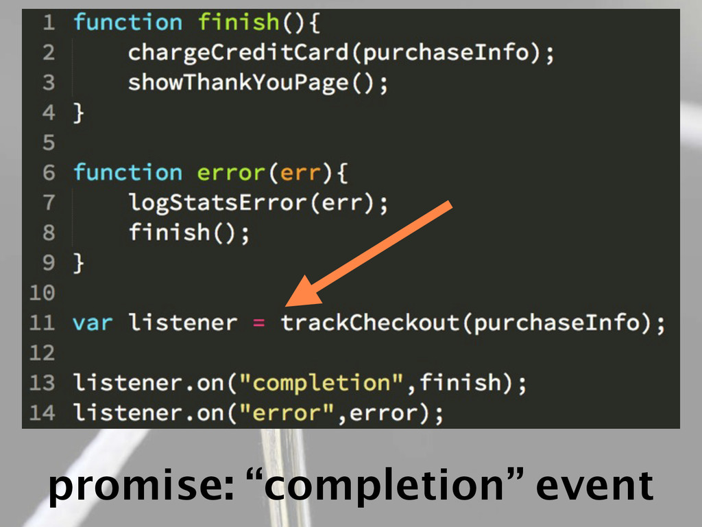 "promise: ""completion"" event"
