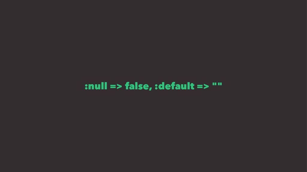 ":null => false, :default => """""
