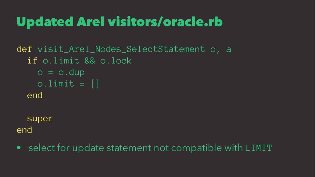 Updated Arel visitors/oracle.rb def visit_Arel_...