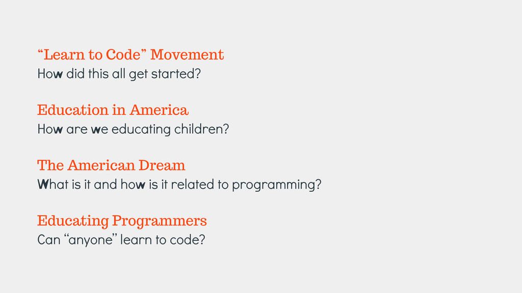 """""""Learn to Code"""" Movement How did this all get s..."""