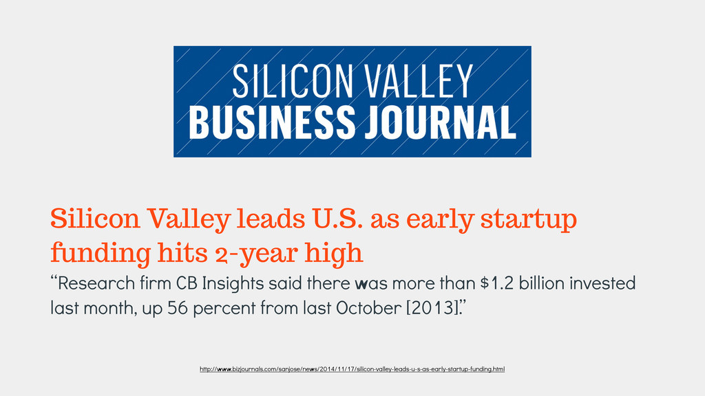 Silicon Valley leads U.S. as early startup fund...