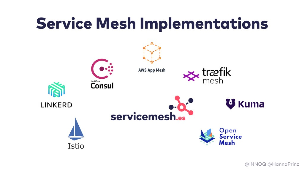 Service Mesh Implementations Istio @INNOQ @Hann...