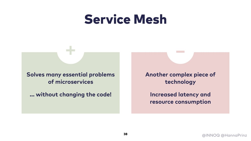 Service Mesh Solves many essential problems of ...
