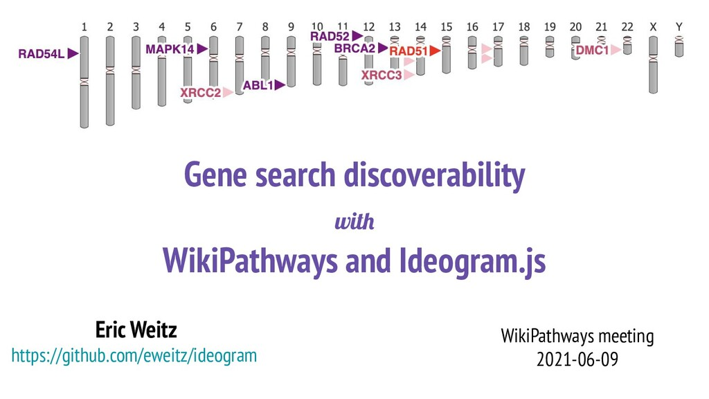 Gene search discoverability with WikiPathways a...