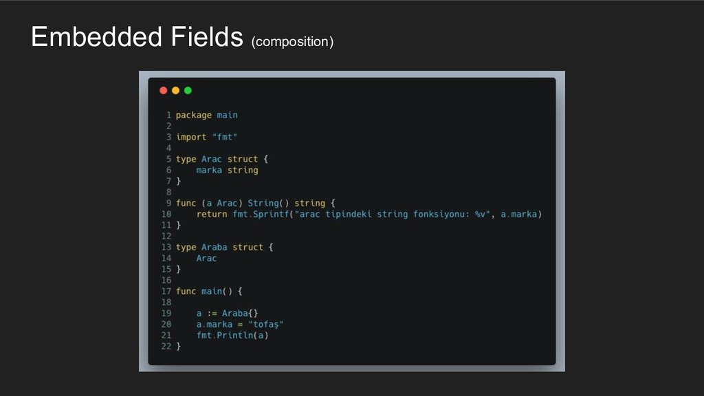 Embedded Fields (composition)