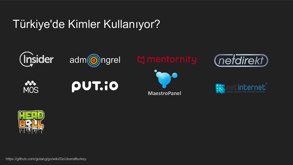 Türkiye'de Kimler Kullanıyor? https://github.co...