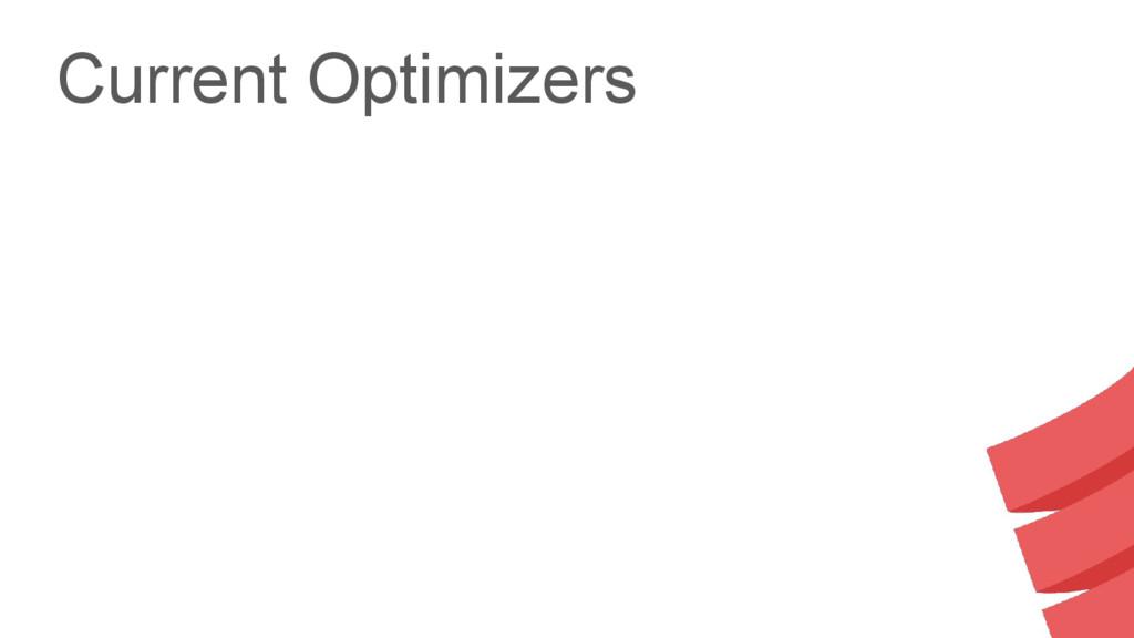 Current Optimizers
