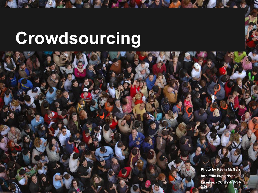 Crowdsourcing Photo by Kevin McGarr http://flic...