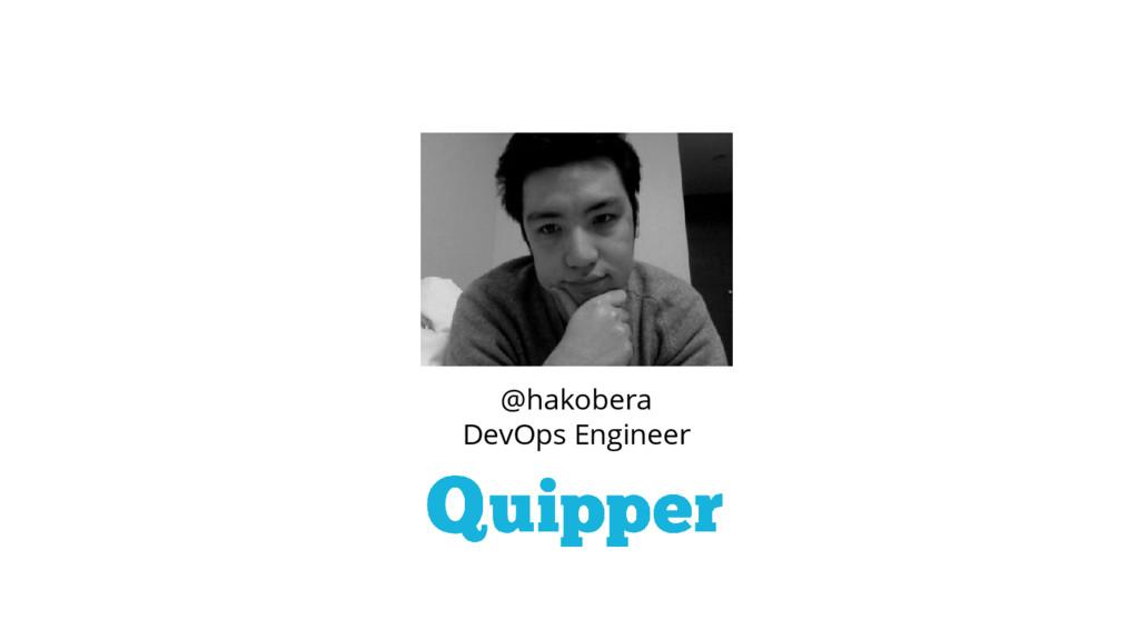 @hakobera DevOps Engineer