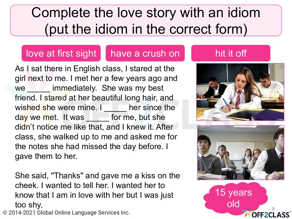 As I sat there in English class, I stared at th...