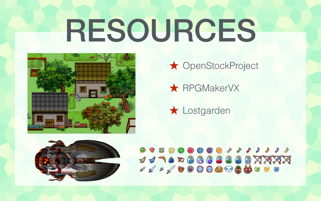 RESOURCES ˒ OpenStockProject ! ˒ RPGMakerVX ! ˒...
