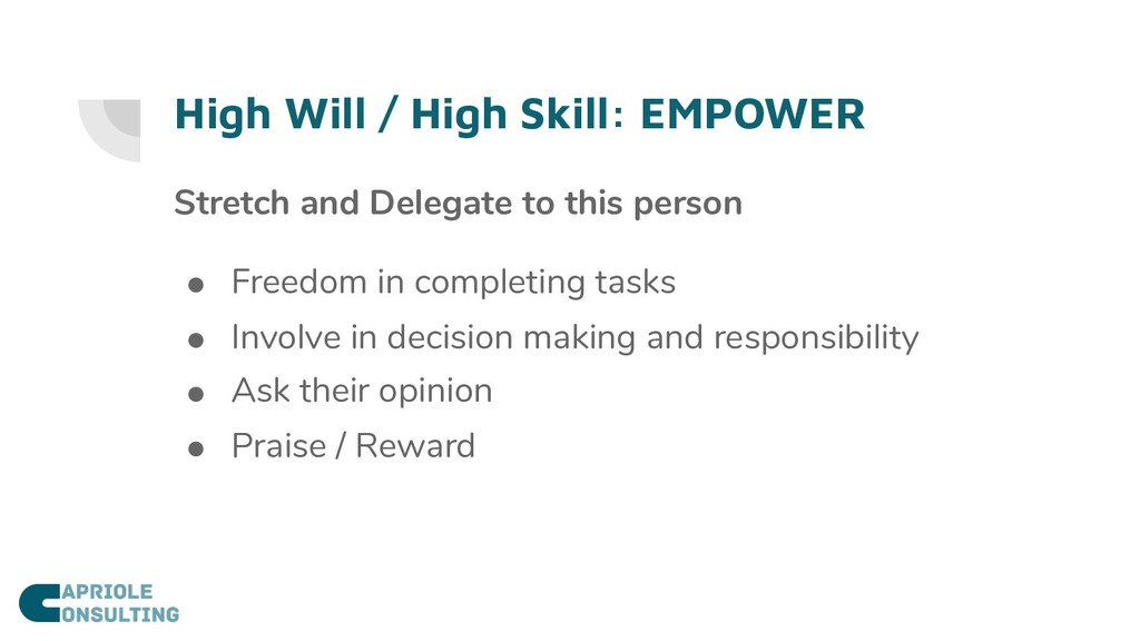 High Will / High Skill: EMPOWER Stretch and Del...