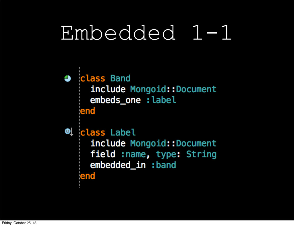 Embedded 1-1 Friday, October 25, 13