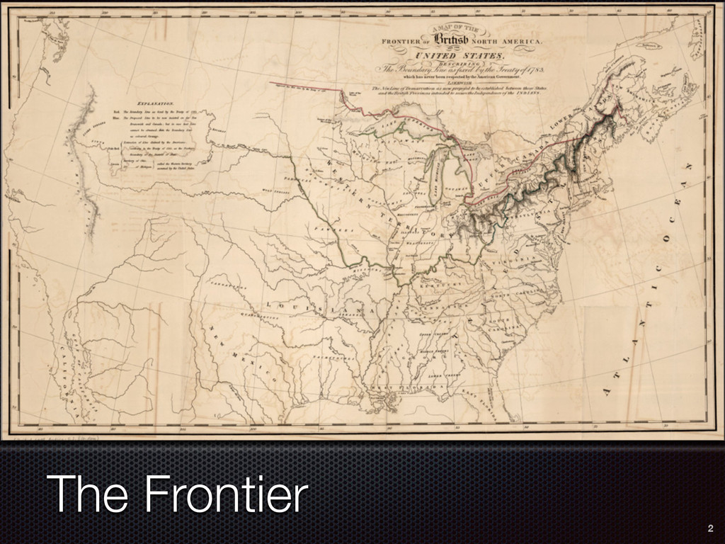 2 The Frontier