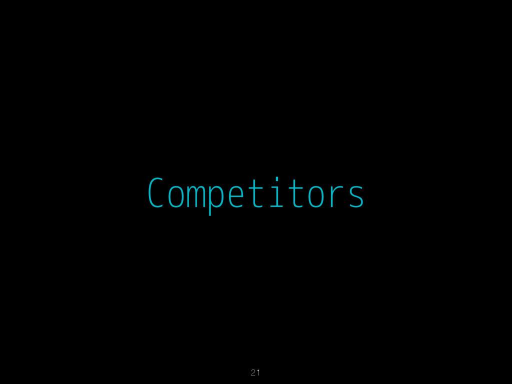 Competitors 21