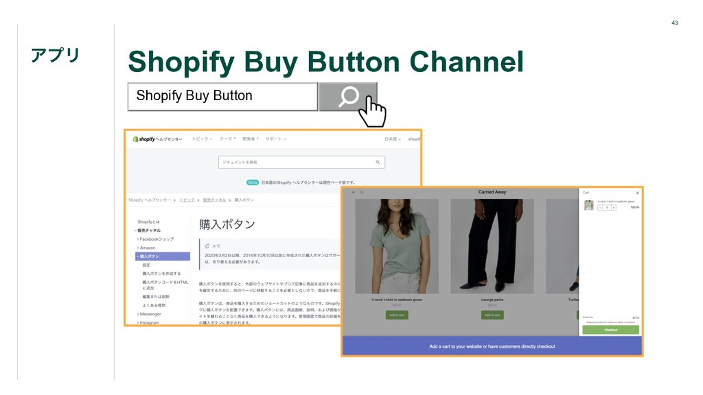 43 Shopify Buy Button Channel ΞϓϦ Shopify Buy B...