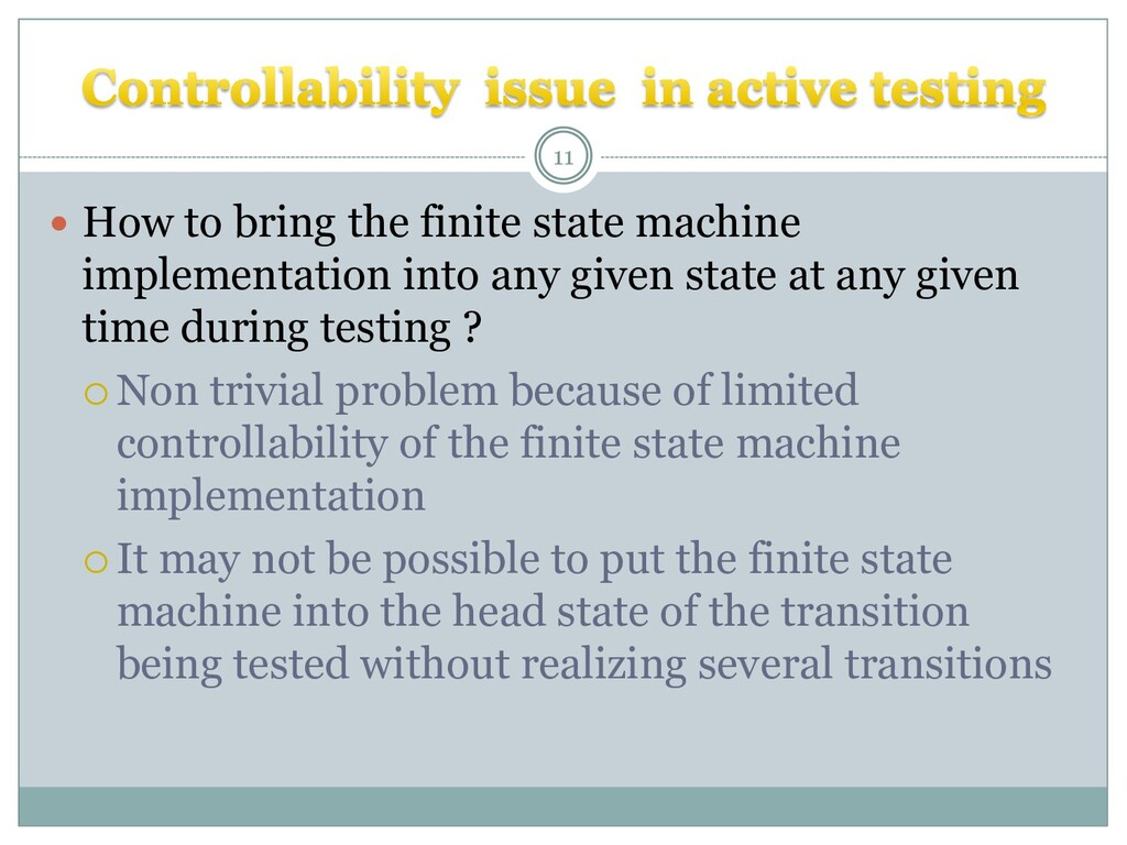  How to bring the finite state machine impleme...