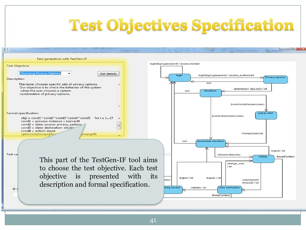 41 This part of the TestGen-IF tool aims to cho...
