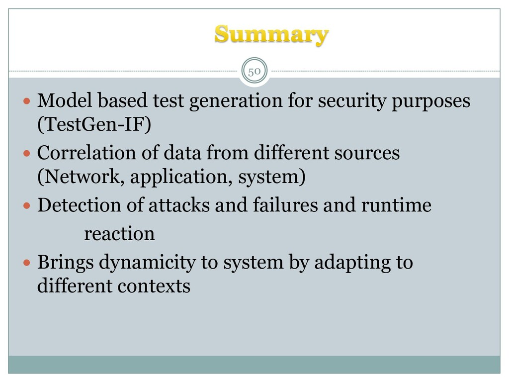  Model based test generation for security purp...