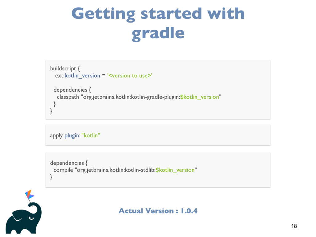 18 Getting started with gradle buildscript { ex...