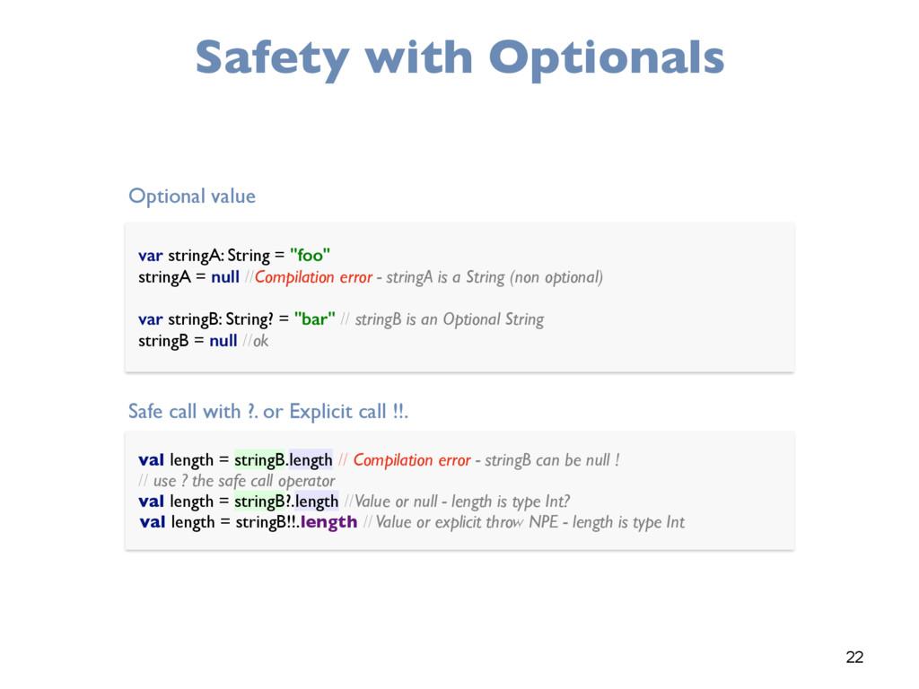 val length = stringB.length // Compilation erro...
