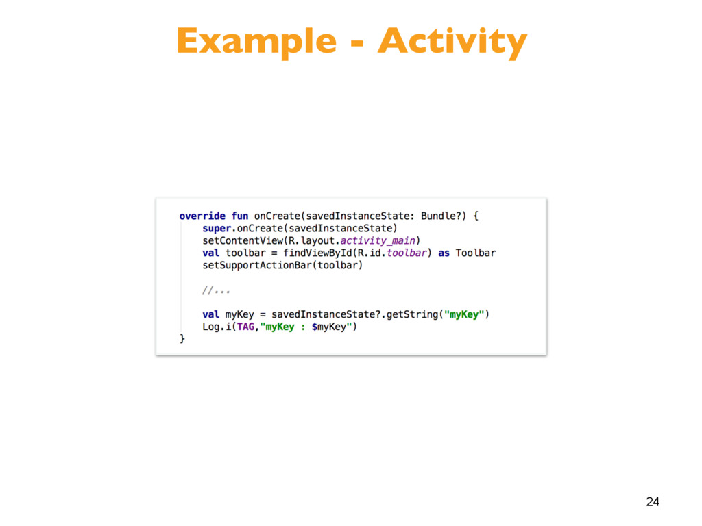 24 Example - Activity
