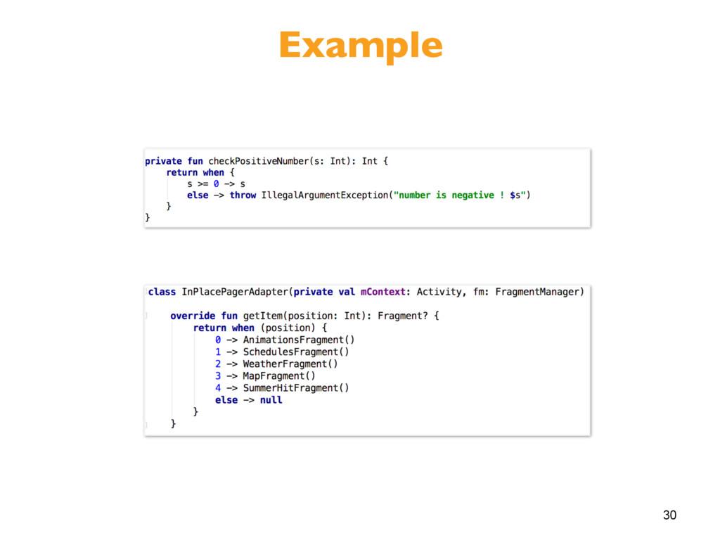 30 Example