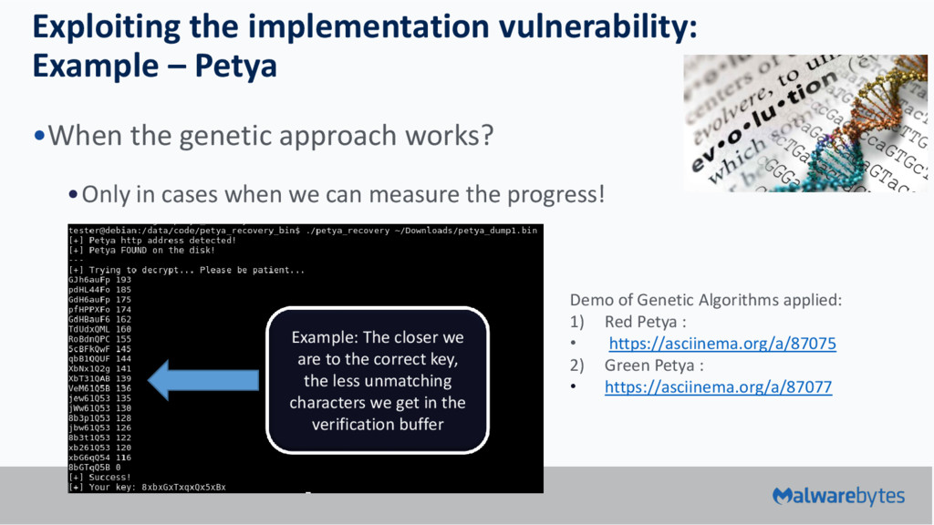 Exploiting the implementation vulnerability: Ex...