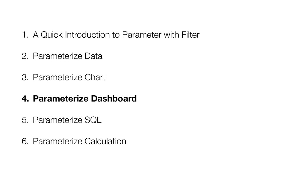 1. A Quick Introduction to Parameter with Filte...