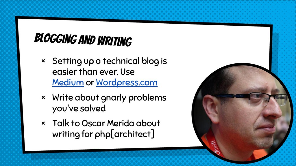 × Setting up a technical blog is easier than ev...