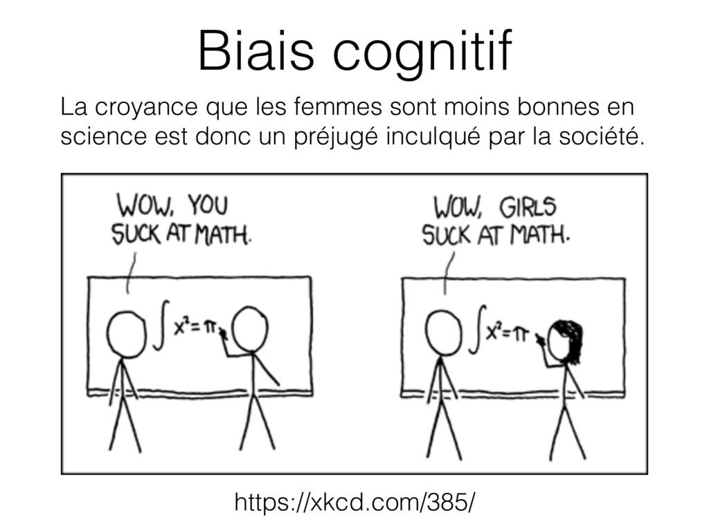 https://xkcd.com/385/ Biais cognitif La croyanc...