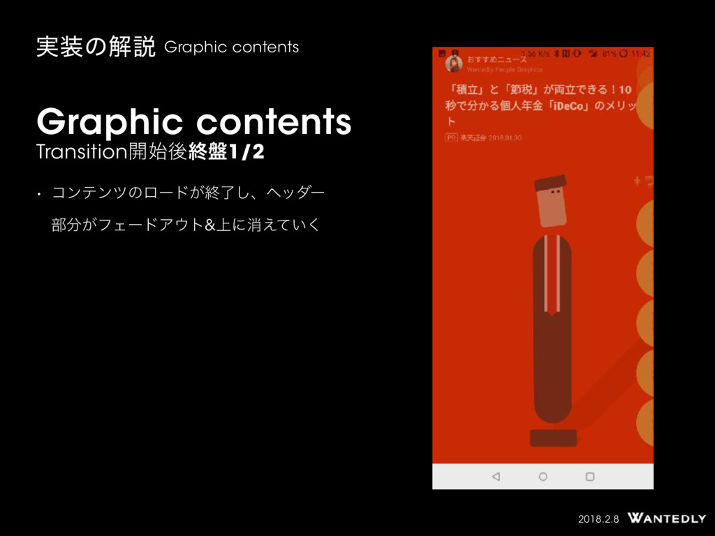 2018.2.8 Graphic contents Transition։ޙऴ൫1/2 • ...