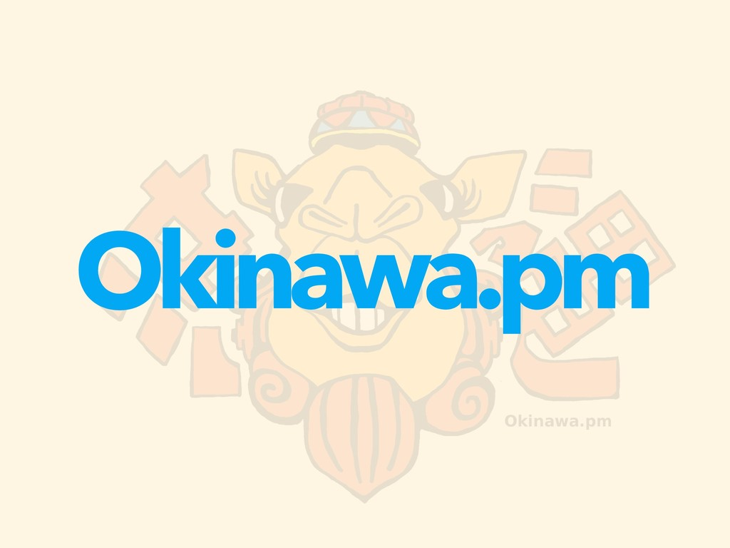 Okinawa.pm