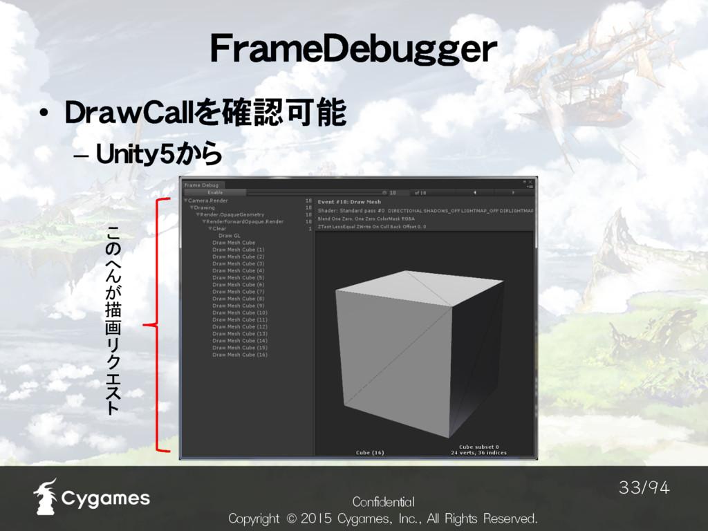 FrameDebugger $POGJEFOUJBM $PQZSJHIU ˜$Z...