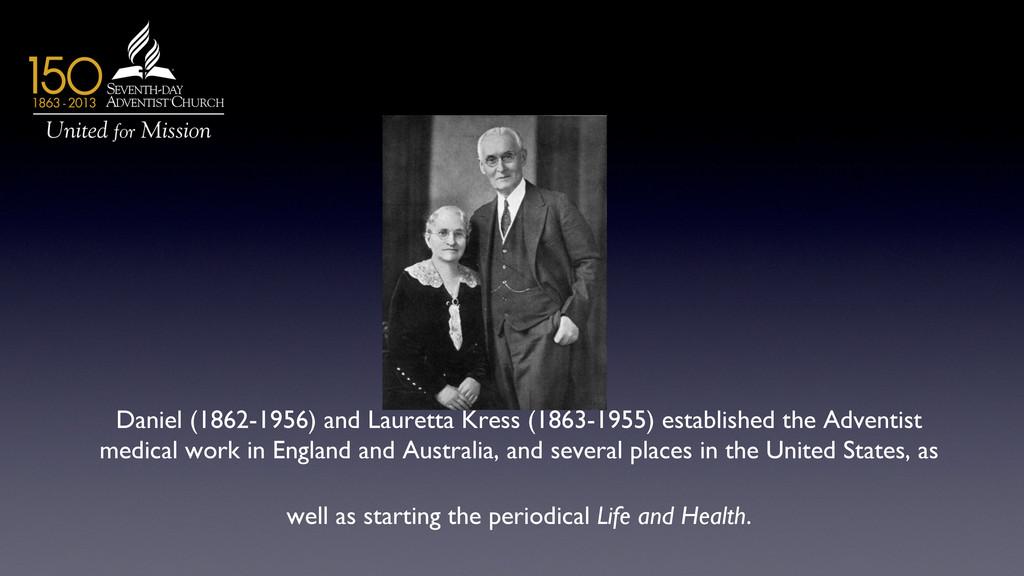 Daniel (1862-1956) and Lauretta Kress (1863-195...