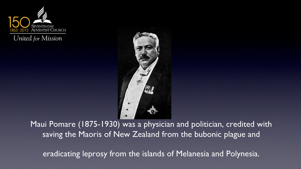 Maui Pomare (1875-1930) was a physician and pol...