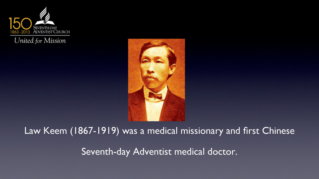 Law Keem (1867-1919) was a medical missionary a...