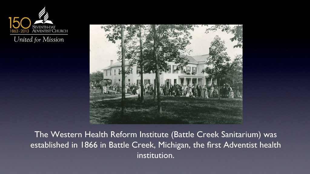 The Western Health Reform Institute (Battle Cre...