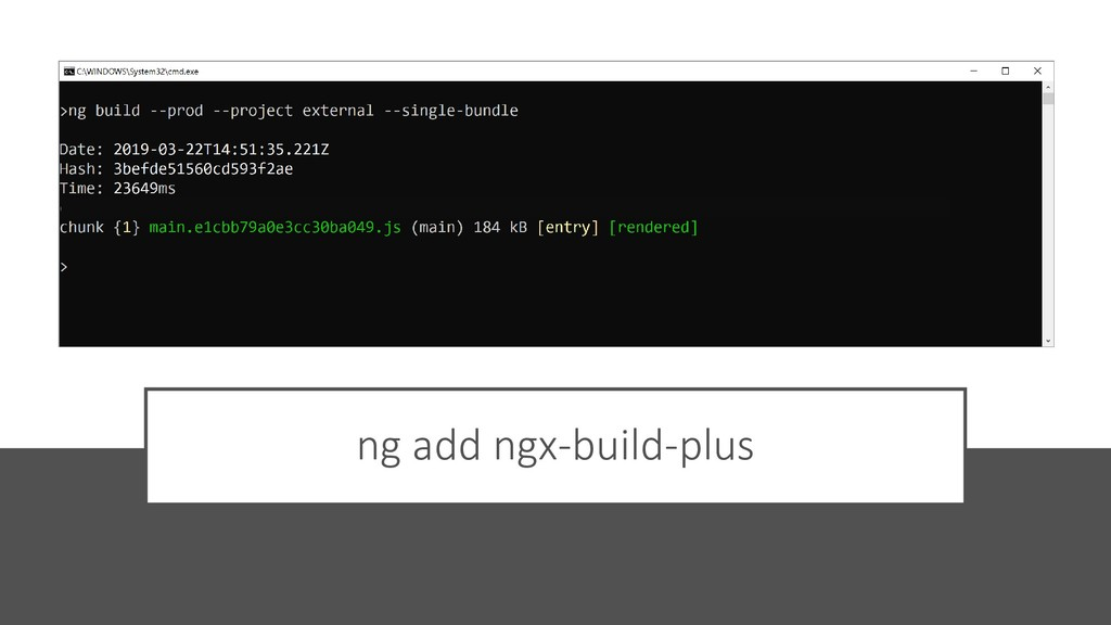 @ManfredSteyer ng add ngx-build-plus