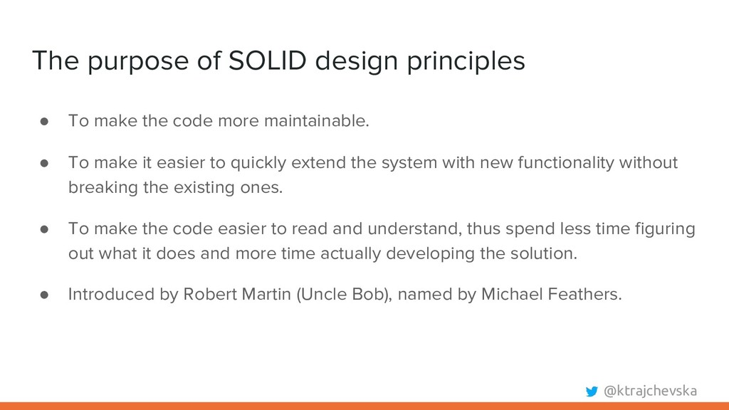 @ktrajchevska The purpose of SOLID design princ...