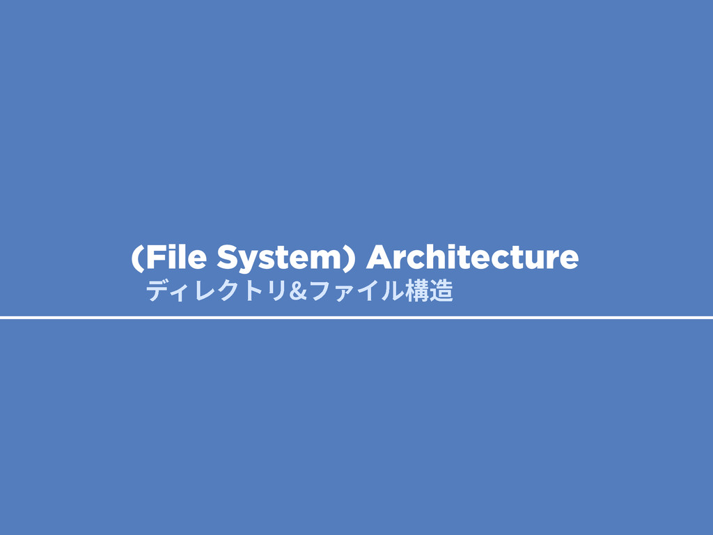 ر؍ؙٖزٔؿ؋؎ٕ圓鸡 (File System) Architecture