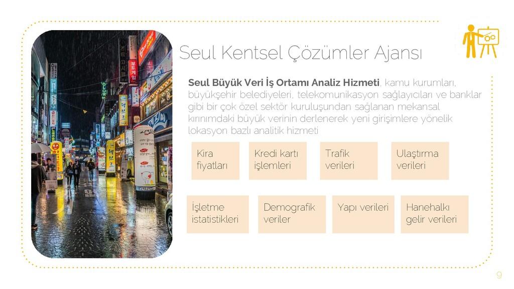 Seul Kentsel Çözümler Ajansı Seul Büyük Veri İş...