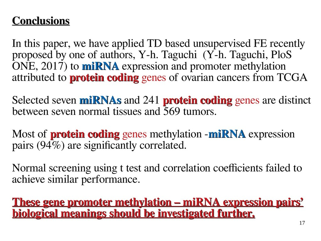 17 Conclusions Conclusions In this paper, we ha...