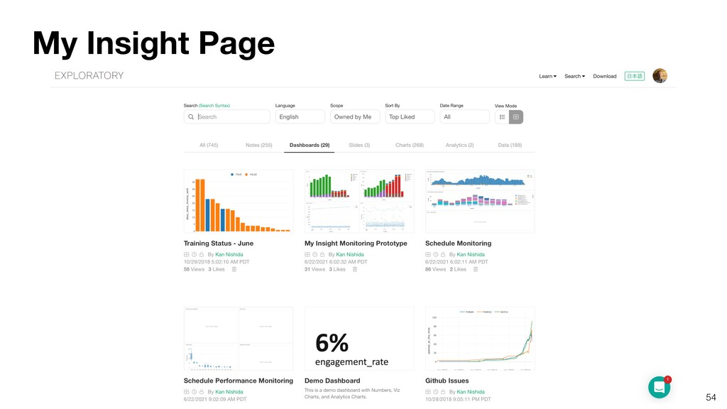 54 My Insight Page