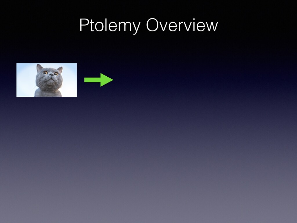 Ptolemy Overview